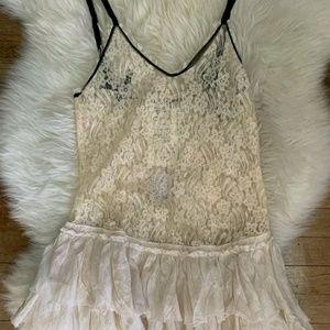 Free People One Lace slip dress NWT
